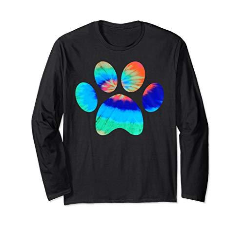 - Tie Dye Animal Cat Dog Paw Print | Pet Lover Shirt Gift