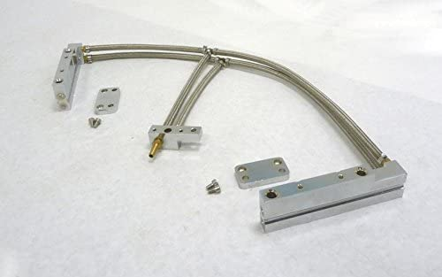 OBX Racing Sports Polished Silver Aluminum Fuel Injection Rail For 02-05 Impreza WRX 2.0L EJ20T