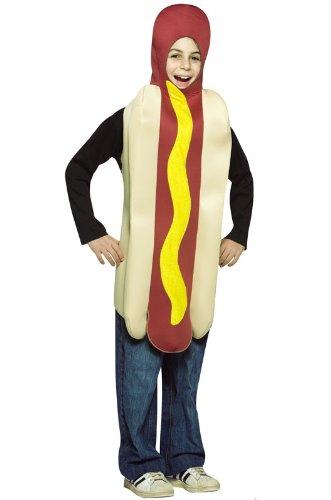 Child Hot Dog Funny Costume - Child Medium