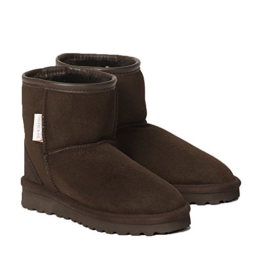 Calf Height Classic Shearling Boots British Shearling - Black - 5 ()