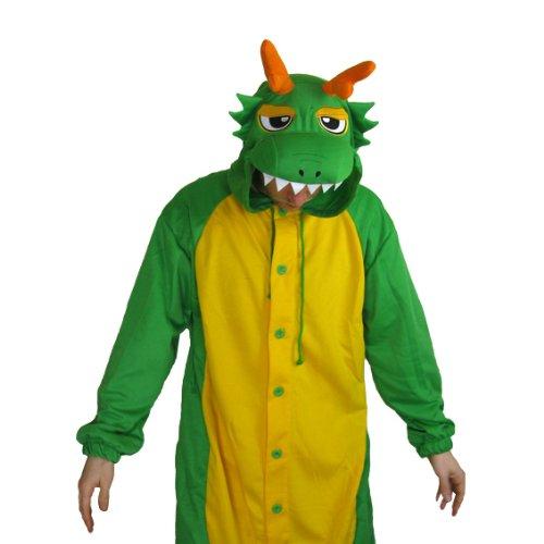 Green Dragon Onesie - Small  Amazon.co.uk  Clothing 1bab81a50