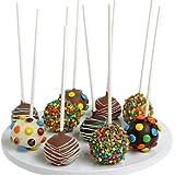 Birthday Belgian Chocolate Dipped Cake Pops - 10 piece