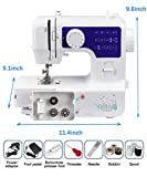 Luby Sewing Machine for Beginners with 12 Stitches