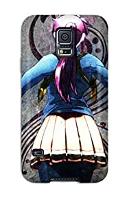 For Galaxy S5 Tpu Phone Case Cover(black Lagoon)