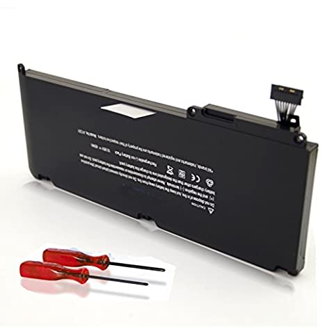 Easy Style Laptop Battery for Apple A1331 A1342 Unibody MacBook 13.3 Inch (Apple MacBook Late 2009 Mid 2010), fits 020-6582-A 661-5391 661-5585 MC207LL/A (2009 Macbook Battery Unibody)
