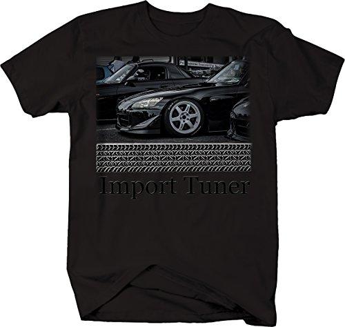 Import Tuner Honda S2000 Hardtop Convertible Roadster Tshirt - (Honda Import Tuner)