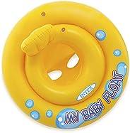Baby Bote Meu Primeiro Bote (assento em Faixas) INTEX, Multicor