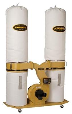 Powermatic PM1900TX-BK3 Dust Collector 3HP 3PH 230/460-Volt 30-Micron Bag Filter Kit