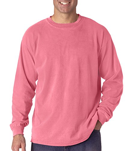 Comfort Colors by Chouinard Long Sleeve T-Shirt, Crunchberry, Large from Comfort Colors