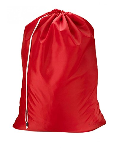 Cherry Red Jumbo Cup (Red_Heavy Duty Jumbo Nylon Laundry Bag -Student College Dorms Gym Size 30