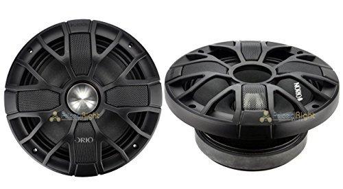 Orion XTR XSM804SL 8-Inch Slim 300 RMS Pro Audio Midrange Speakers 1200W 4 Ohm
