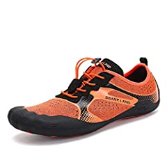 Solid rubber outsole give you great grip and traction on slippery and wet surfaces, together with anti collision toe will protects your feet from sand, small stones, broken glass, sharp rocks, hot surfaces, coral reefs when walking.The drawst...