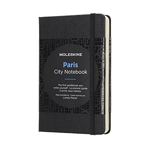 Moleskine City Notebook Paris, Pocket, Black, Hard Cover (3.5 x -