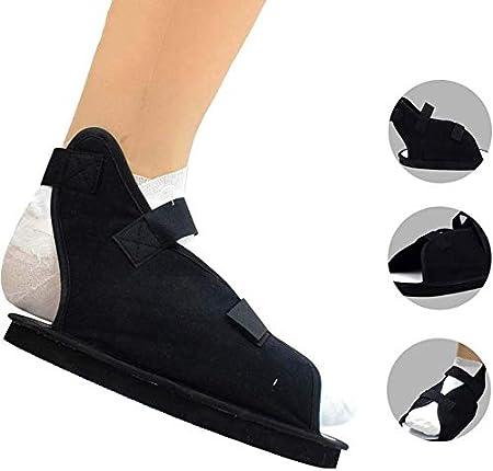 QAZXCV Zapato Postoperatorio, Cirugía Zapato De Punta Abierta Fractura De Pie Zapato Médico Quirúrgico Ajustable para Caminar Bota Moldeada Sandalia Ortopédica,M