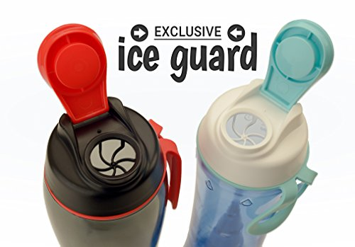 318enJkISrL 50 Strong Big 36oz BPA Free Tritan Water Bottle – Made in USA – Fits in Most Cup Holders – Ice Guard Chug Cap with Easy Carry Loop