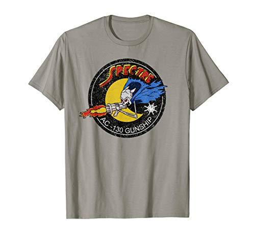 Vietnam AC-130 Gunship Ghost Aerial Gunner Tee Shirt