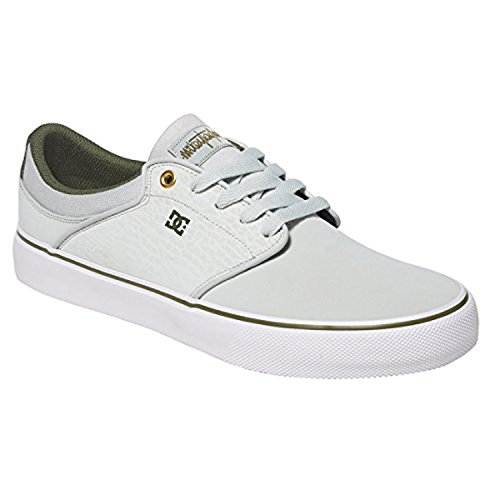 DC Men's Mikey Taylor Vulc Mikey Taylor Signature Skate Shoe Grey/White/Green cheap sale footlocker footlocker sale online free shipping professional ost release dates WCttnY