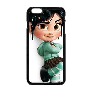 SANYISAN Cartton Babie Doll Black iPhone plus 6 case