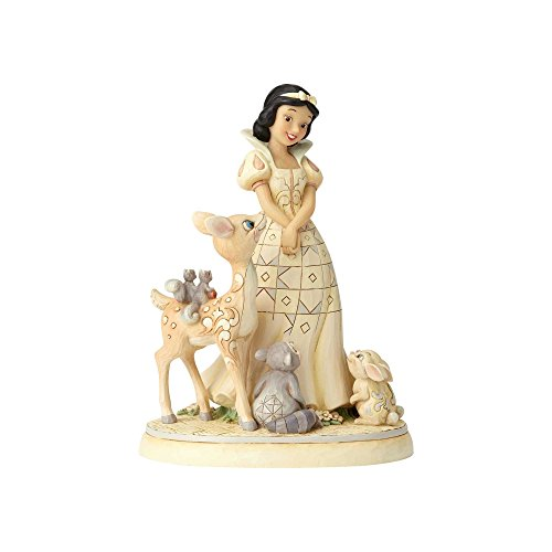(Enesco Disney Traditions by Jim Shore Woodland Snow White Figurine, 7.8
