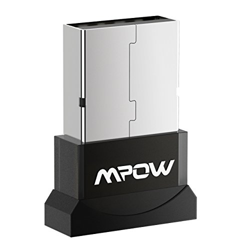 Mpow Upgraded Bluetooth USB Adapter for PC, Bluetooth Dongle for Computer/Laptop Compatible Windows 7, 8, 8.1, 10, Vista, XP to Connect Bluetooth Headphones/Headset/Speakers/Mouse/Keyboard/Smartphone