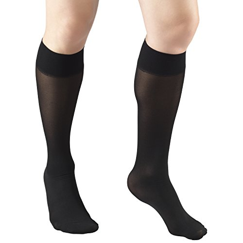 Truform Sheer Compression Stockings, 8-15 mmHg, Women