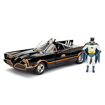 Jada Toys DC Comics Batman Classic TV Series Batmobile DIE-CAST Car Model Kit, 1: 24 Scale Vehicle & 2.75