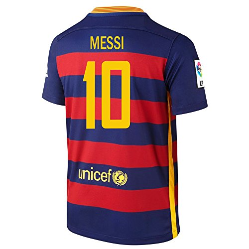 Nike Messi #10 Barcelona Home Soccer Jersey 2015/2016 YOUTH. (YXL)