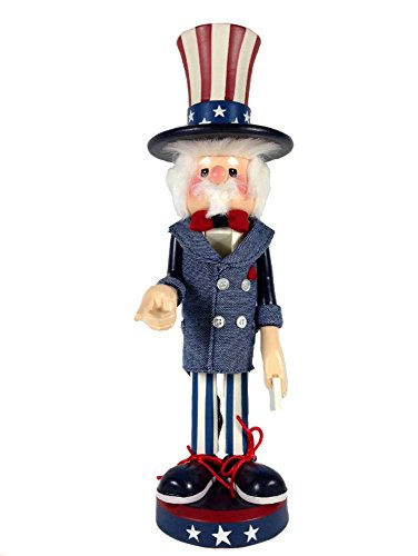 Retired Zim's Heirloom Collectibles *Uncle Sam* Nutcracker