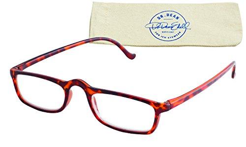 Dr. Dean Edell Calexico Reading Glasses, Tortoise (+1.50)