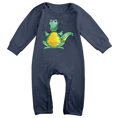 [VanillaBubble Crocodile Thumb Up For 6-24 Months Baby Awesome Romper Navy Size 18 Months] (Breaking Bad Jesse Costumes)