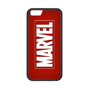 Comics MARVEL Logo iPhone 6 6s Plus 5.5 Inch Cell Phone Case Black gift z004hm-2327181