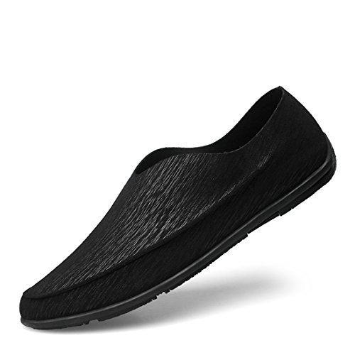 Schwarz 39 Schwarz Minitoo EU LH902 Herren LHEU Mokkasins Größe SWOxwIAgq0