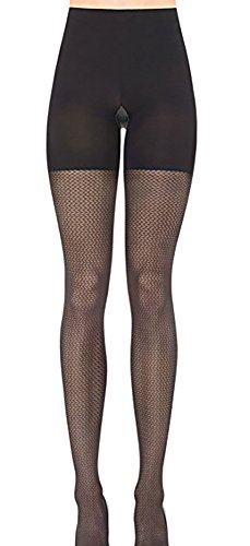 - SPANX Patterned Tight End Tights Pucker Up (2141) B/Black