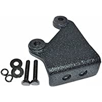 CB Antenna Mount at Rear Tailgate Spare Tire Bracket fits Jeep Wrangler JK