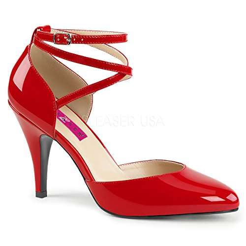 omen's Dre408/r D'Orsay Pump, Red Patent, 11 M US (Red Patent Pumps)