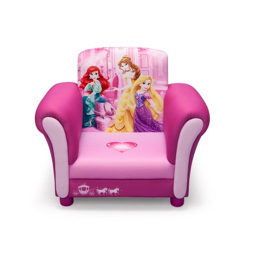 Delta Princess Upholstered Chair, Disney Princess by Delta