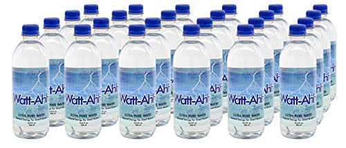AquaNew's Watt-Ahh – Premium Polarized Water for Energy and Health – Case of 24 – 16.9 Oz. Bottles