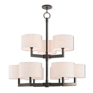 Amazon.com: livex lighting 42429 Oslo 9 luz Araña de 42