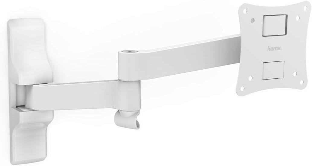 Hama Monitor Tv Wandhalterung Weiß Elektronik