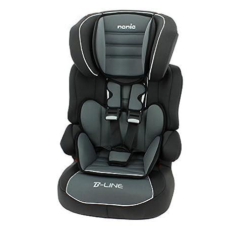 mycarsit, Beline Kindersitz Nania Kindersitz mit hoher Rü ckenlehne, fü r Kinder von 9 bis 36 kg TEAM TEX -- Dropship 583906