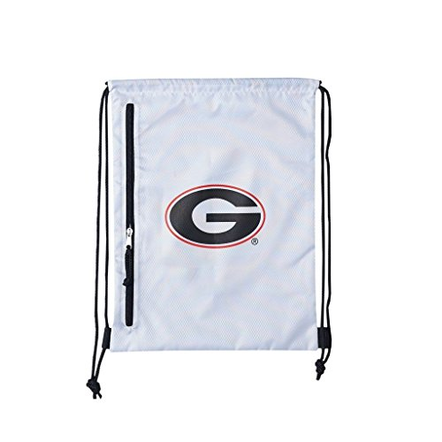 NCAA Georgia Bulldogs Backsack, White, One (Georgia Bulldogs Mascot Costume)