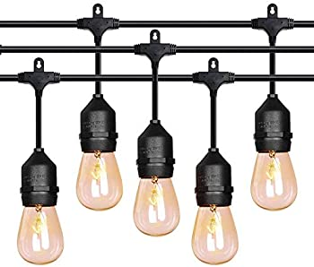 FrenchMay 52 ft Outdoor String Lights