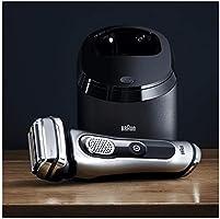 Braun Series 9 9292 Clean&Charge Afeitadora Eléctrica Hombre, Afeitadora Barba, Estación de Limpieza y Carga Clean&Charge y Funda para Viaje, Plata: Amazon.es: Salud y cuidado personal