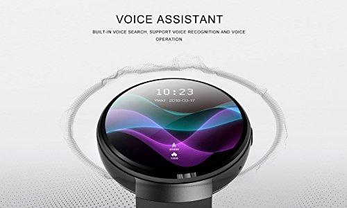SHOPUS   LEMFO LEM7 1st 4G android 7 0 standalone smartwatch