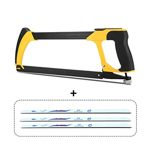 PATHONOR Hand Saw Set, Metal Handsaw Set with12-Inch 5pcs Upgraded Double sides handsaw Magic Saw Wooden Saw Metal Saw for Wood Working, Kitchen, Glass,Tile, Wood, Metal, Plastic
