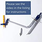 Mr. Pen Professional Metal Compass with Wheel and