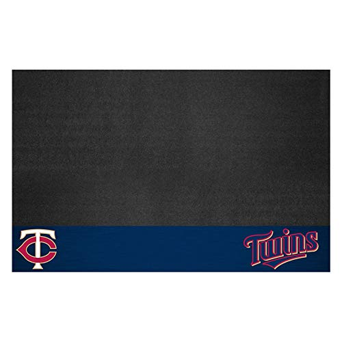 FANMATS MLB Minnesota Twins Vinyl Grill Mat - Minnesota Twins Decorations
