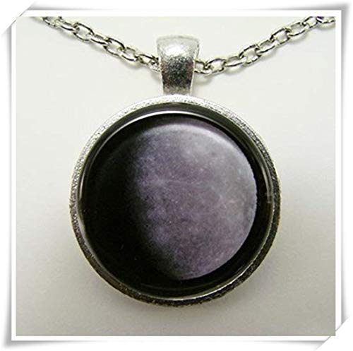 Mercury Necklace Planet Mercury, Messenger of The Gods, Astronomy and Physics Art for him and her