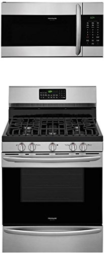 Frigidaire 2-Piece Stainless Steel Kitchen Package with FGGF3059TF 30