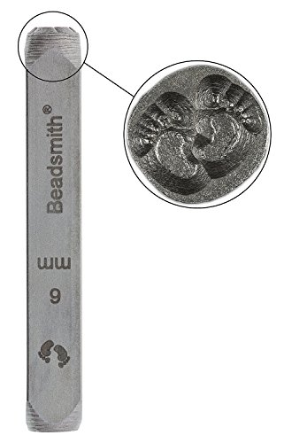 [Design Stamp, Baby Feet (6mm) - LPSD96] (Baby Feet Stamp)
